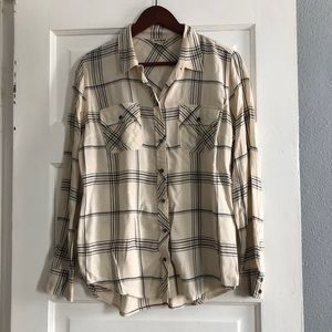 Lucky Brand button up top size large